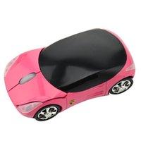 Игра Мода Супер Роскошные автомобильные в форме игры Mice 2.4 ГГц Беспроводная оптическая компьютерная мышь для ноутбука ПК портативный