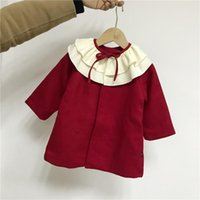 Jackets Baby Girl Coat Kids 2021 Winter Clothing Little Toddler Girls Christmas Coats Clothes For Party Age 1-5