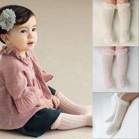 Baby Girl Носки 0-5 год малыш детские хлопчатобумажные сетки дышащие носки новорожденный младенческий мальчик чистые хлопковые лето высокие коленные носки 925 x2