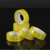 Transparent tape office and school stationery adhesive tapes packing accessories 2016