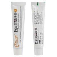 Zitronenaroma Natürliche Holzkohle Antimoth Anti-sensible Zahnpasta Oral Nursing Frischer Atem TSLM2