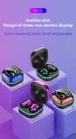 Waterproof Earphone Headphones Stereo Sport Headset & TWS Wireless Earbuds S6 SE Breathing Light