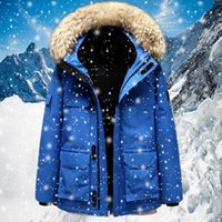 Diseñador hombres canadá cálido chaleco ganso etiqueta chaquetas canadiense estilo para hombre parkas chaqueta abrigos hombre mujeres con capucha calidad invierno bordado blanco pato abajo