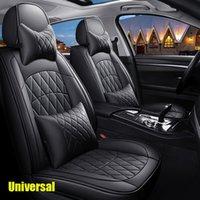 جودة عالية غطاء مقعد السيارة الخاص ل jaguar جميع نماذج xf xe xj f- pace f شركة لينة بو الجلود دليل مقاعد المياه يغطي العالمي