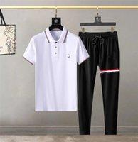 Designer di Lussurys estate Casual Mens Tracksuit Abbigliamento Abbigliamento Uomini Set fitness Sports Sports Man Brand T Shirt T Sample Abbigliamento Abbigliamento Abbigliamento Abbigliamento Due pezzi M-3XL # 16