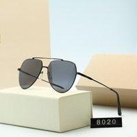 عالية الجودة قناع إطار معدني كهربائي نظارات شمسية عالية الوضوح عدسة الاستقطاب الأزياء العصرية الذكور الطيار نظارات الشمس 3 ألوان