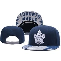 New Caps Toronto Maple Leafs Hóquei Snapback Bonés Azul Cap Cap Hats Mix Match Order Todos os Caps Top Quality Hat