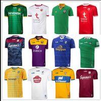 2021 GAA Kildare Clare Cavan Rugby Jerseys Limerick Wexford Kerry Tyrone Mayo Cork Meath Galway Dublin Ath Cliath Gaillimh Tipperary Ciobraio Arann Shirts Sport