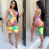 2019 Women Sexy One Piece Snake Print Bikini Lace Up Straps Swimsuit Bathing Suit Swimwear Irregular Sling Jumpsuit Romper
