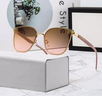 High quality fashion vintage sunglasses women Brand designer womens ladies sun glasses with cases and box