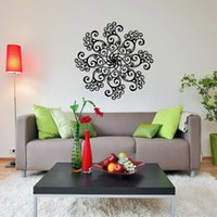 Aw9484 Islamic Muslim Flower Art Ayatul Kursi Wall Sticker Decal DIY Home Decoration Mural Decor Bedroom Stickers Wallpaper Wallpapers