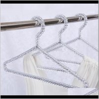 Racks Housekeeping Organization Home Garden Drop Delivery 2021 Fashion Acrylic Beads Hanger Women Clothing Skirts Dress Display Lady Clothes