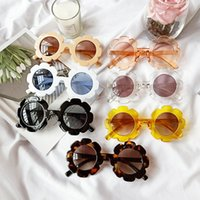 7 estilos óculos de sol de girassol infantil crianças sunblock moda bebê bonito óculos de sol meninos e meninas óculos lla667