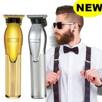 Cordless Razor Hair Clipper Professional Trimmer Beard Barber Rechargeable Metal For Men Cut Scissors