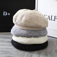 Berets Boina Men's Cap Womens Hats Fall For Women 2021bonnets Designer Autumn Winter Hat Male Vintage Painter
