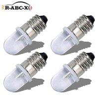 Luces de emergencia Ruiantsion 4 PCS E10 AC 220V-230V Bombilla LED ADVERTENCIA 6000K 4300K Lámparas de trabajo Mini Mini Indicador Mini 150lm