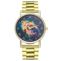 Wristwatches Women Fashion Luxury Animal Pattern Quartz Steel Band Buckle Bear Round Wrist Watch
