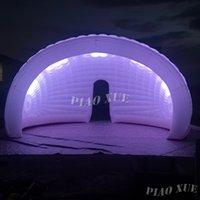 Personalizza il gigante Giant Luna LED Gommonata della barra della barra a mezza Dome Air Pod per evento e pubblicità