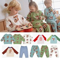 Clothing Sets 2021 PS Brand Thanksgiving Outfits For Girls Toddler Boy Clothes Winter Kids Child Tops Baby Sweatshirt Sport Pants