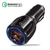 6A Car Charger Quick 3.0 Mobile Phone 2 Port USB Fast for iPhone 7 8 X XS Samsung Tablet