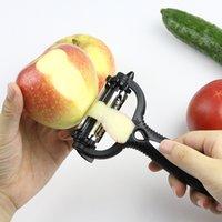 Multifuncional 4 em 1 peeler rotativo 360 graus de batata laranja laranja abridor de frutas friccionais cortador de cozinha acessórios de cozinha CCF6525
