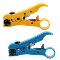 Attrezzi a mano per UTP / STP RG59 RG6 RG7 RG11 Cutter Striper Cable Cable Pinze multi-funzionale Strumento elettrico elettrico 0056