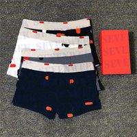 Designer Mens Boxer Morksants Classic Men Slips Biancheria intima in cotone traspirante Pantaloncini casual