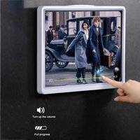 Cell Phone Mounts & Holders Wall Mounted Tablet Case Simple Ipad Storage Box Waterproof Holder Suitable For Bathroom Toilet Kitchen