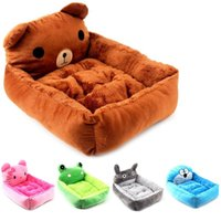 Kennels & Pens Cute Pet Winter Dog Bed Sofa Soft Warm Cat House Cartoon Small Large Dogs Cushion For Chihuahua Teddy