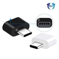 USB to Type C adaters Micro Type-C محول U القرص محول محولات مصغرة OTG لتحويل Samsung Huawei Android الهواتف الذكية