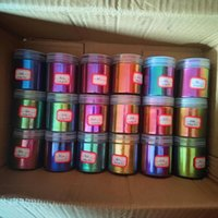 Tırnak Glitter 10 g / lot Hiper Vites Krom Bukalemun Renk Viten Mika Toz Pigment Araba Boya / Suluboya / Epoksi Reçine / Nail Art