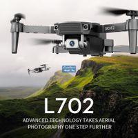 L702 4K كاميرا مزدوجة FPV البسيطة المبتدئين الطائرات بدون طيار طفل لعبة، محاكاة، رحلة المسار، سرعة قابل للتعديل، الارتفاع عقد، لفتة التقاط الصورة، 1800 مللي أمبير بطارية، 3-1