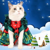 Autumn Winter Amazon Dog Apparel Innovative Creative Christmas Sweater Pet Dogs Clothes Cosplay Coats for Halloween Quirky Cat Clothing Cute funny cloak Dresses