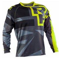Racing Track Jersey Motocross Джерси MX Downhill MTB Горный велосипед Рубашка Устройства Мотор Крест Одежда FXR DH MTB X0503