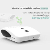 Car Air Freshener Purifier Fresh USB Charging Portable Anti-slip Remove Odor For Vehicle F-