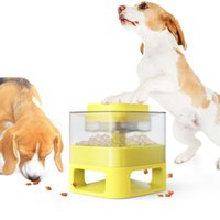 Dog Bowls Pet Supplies Catapult Puzzle Training Slow Food Spiller Toy for Dogs Great Alternative Feeder