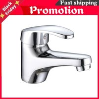 Classic Bathroom Basin Faucet Elegant Water Tap Chrome Finish Single Handle Faucets Brass Mixer SH2706 Sink