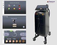 Triple wavelength diode laser hair removal machine soprano ice platinum alma beauty equipment