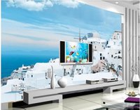 Wallpapers 3d Wallpaper Custom Po Mural On The Wall Seaside Building Landscape Home Decor Background Living Room For Walls 3 D