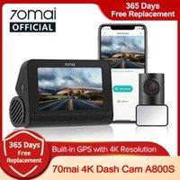 Car DVR GPS ADAS 70mai 4K Dash A800S 24H Parking Monitior 140FOV Support Rear Cam Dual Vision