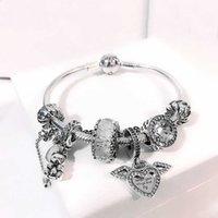 Bracelet de bijoux Zhiyi pour Pandora Charmes S925 Sterling Sier