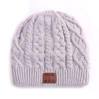 Beanies Speaker Knitted Hat Beanie Wireless Mic Earphone Caps Stereo For Outdoor Sports