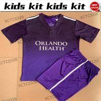 Kit enfants 2021 mls Orlando City Soccer Jersey Enfant costume Mueller Pato Nani Dike Football Shirt en vente