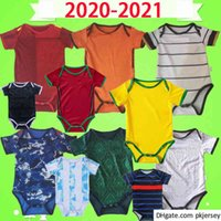 Baby Kit Jersey Itália Espanha Japão Mecixo Argentina Miúdos Terno 2020 2021 Mês Meninos Criança Sets Kids Camisa de Futebol Uniforme Qualidade superior