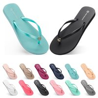 seventy two Slippers Beach shoes Flip Flops womens green yel...