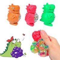 New Cartoon Dinosaur Beads Alleviare la pressione mano gioca giocattoli per bambini stress spremere decompressione adulto ufficio giocattolo bambino regalo