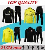 2021 2022 SC Internacional Futebol Futebol Jaqueta de futebol 21/22 Camisas de Futebol Long Pull Zipper Training Suit Chandal