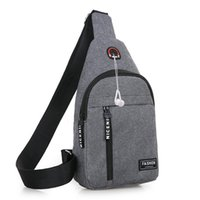 2020 Earphone Bag School Messengers For Men Bag Theft Waist Anti Shoulder Summer Bags Chest Male Crossbody Ogrxe school bag japanese school bags for boys
