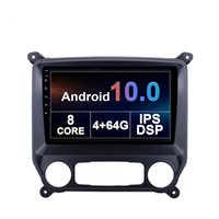 Car Dvd Player with Gps for Chevrolet COLORADO 2014-2015 2016-2018 Android 2din 10 Inch 4g Wifi support Carplay TPMS DVR OBD II Rear camera