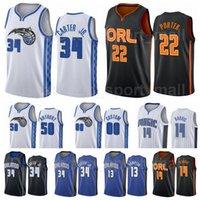 Basketball imprimé 34 Wendell Carter JR Jersey 22 Otto Porter 13 RJ Hampton 14 Gary Harris 00 Aaron Gordon Taille S à XXXL
